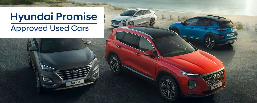 Hyundai Promise: Approved Used Cars at CR Morrow Newry