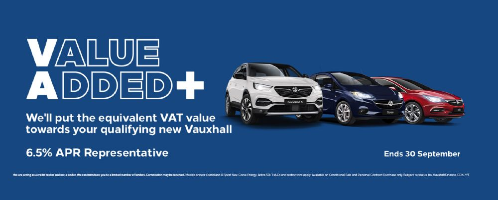 Vauxhall Value Added + Range