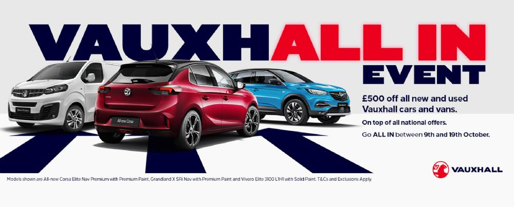 Vauxhall All In Event