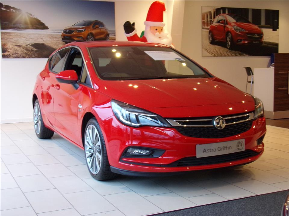 Vauxhall Astra Griffin 1.6 CDTI 136ps S/S