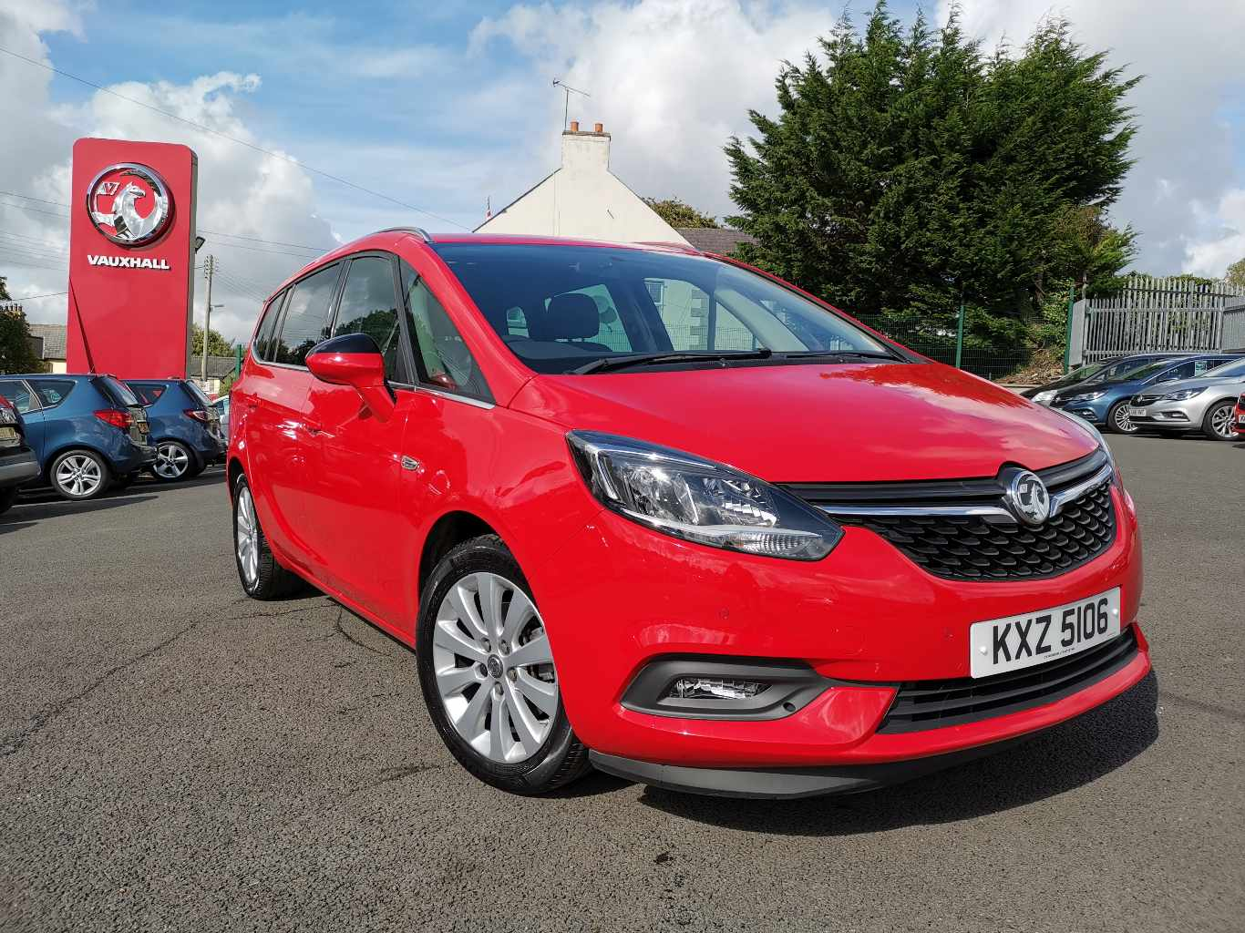 Vauxhall Zafira TOURER 1.4 ENERGY 140PS