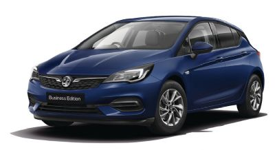 Vauxhall New Astra Navy Blue