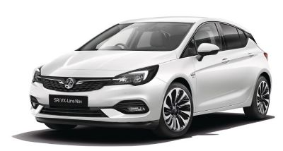 Vauxhall New Astra Summit White