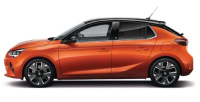 Vauxhall New Corsa Power Orange