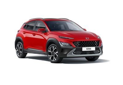 Hyundai New KONA Hybrid Red Ignite Flame