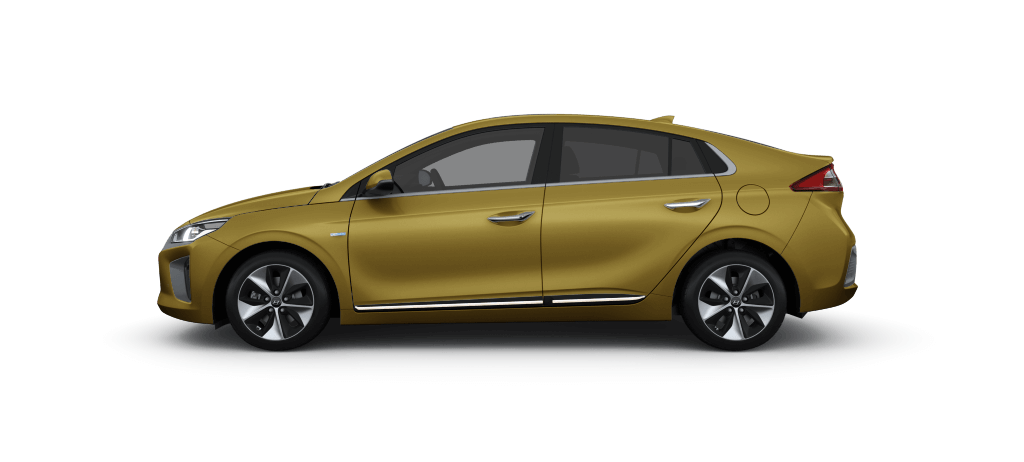Hyundai IONIQ Electric Blazing Yellow