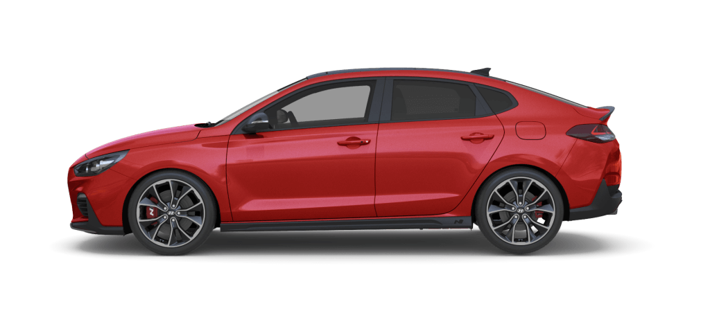 Hyundai i30 N Fastback Engine Red