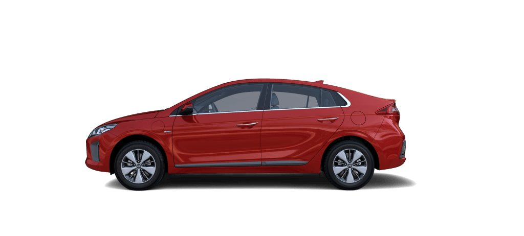 Hyundai IONIQ Plug-in Hybrid Fiery Red