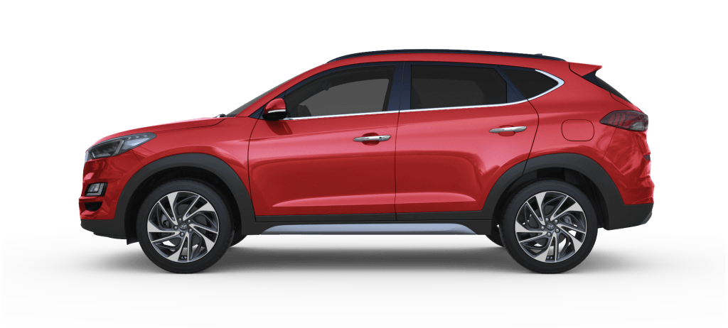 Hyundai Tucson Fiery Red