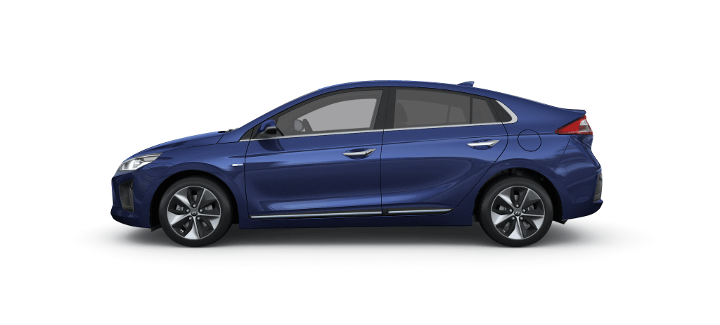 Hyundai IONIQ Electric Intense Blue