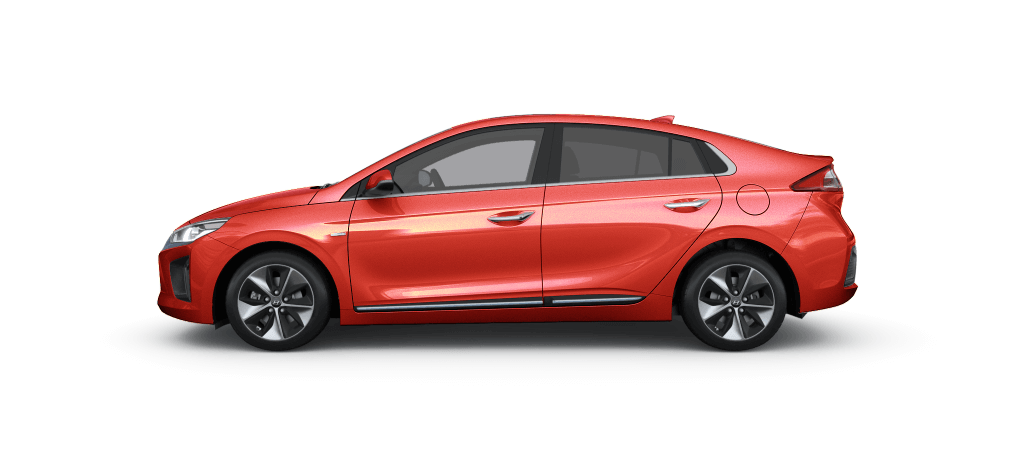 Hyundai IONIQ Electric Lava Orange