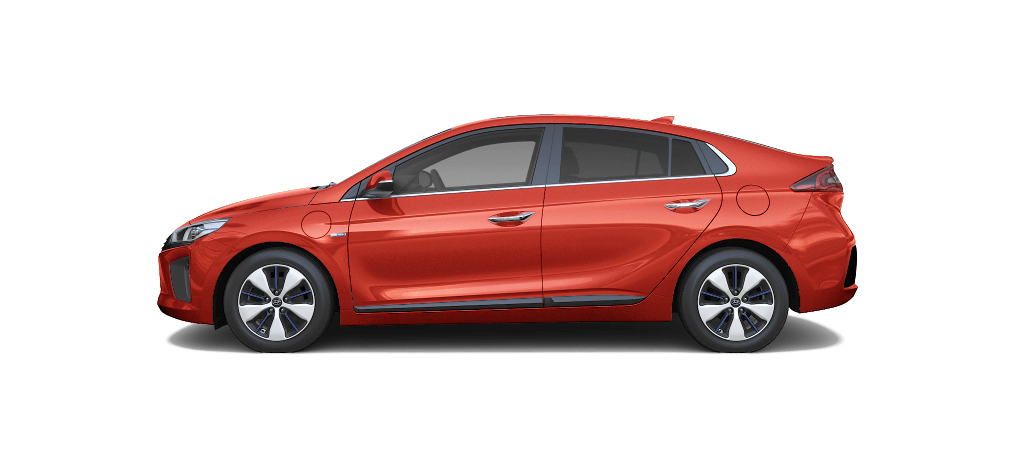 Hyundai IONIQ Plug-in Hybrid Lava Orange