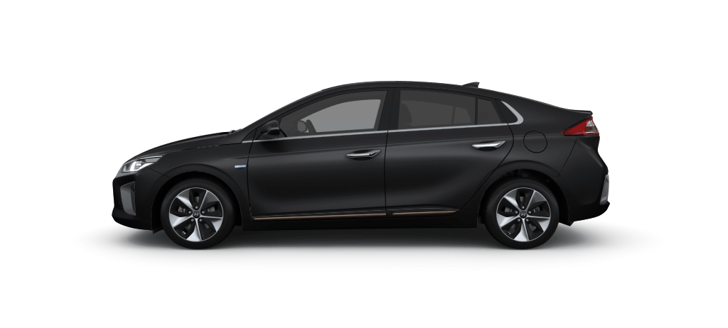Hyundai IONIQ Electric Phantom Black